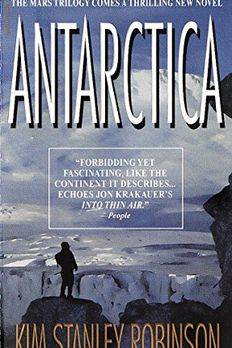 Antarctica book cover