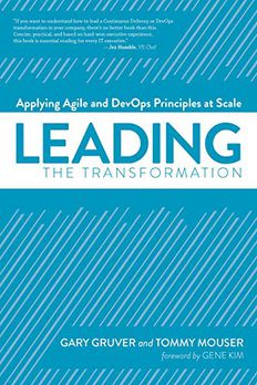 Leading the Transformation book cover