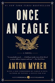 Once an Eagle book cover