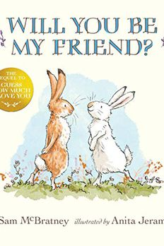 Will You Be My Friend? book cover