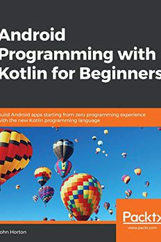 Android Programming with Kotlin for Beginners book cover