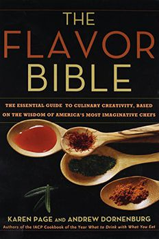 The Flavor Bible book cover