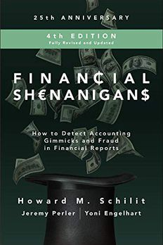Financial Shenanigans book cover