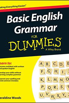 Basic English Grammar For Dummies - US book cover