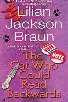 The Cat Who Could Read Backwards book cover
