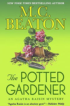THE POTTED GARDENER book cover