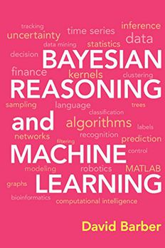 Bayesian Reasoning and Machine Learning Paperback book cover