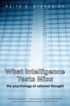 What Intelligence Tests Miss book cover