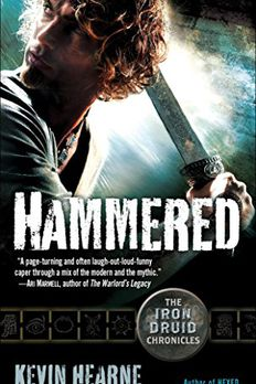 Hammered book cover