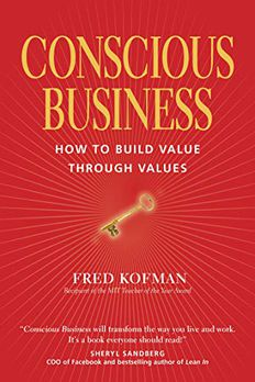 Conscious Business book cover