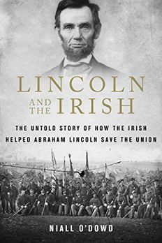 Lincoln and the Irish book cover