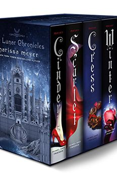 The Lunar Chronicles book cover