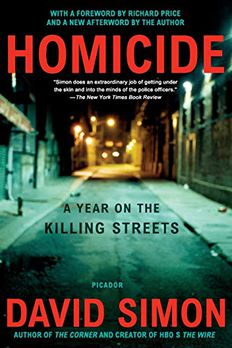 Homicide book cover