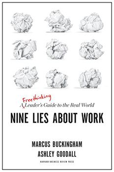 Nine Lies About Work book cover