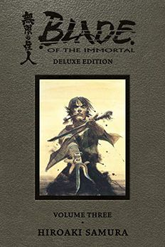Blade of the Immortal Deluxe Volume 3 book cover