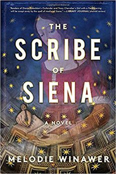 The Scribe of Siena book cover