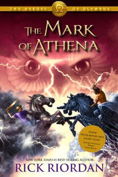 The Heroes of Olympus, Book Three The Mark of Athena book cover