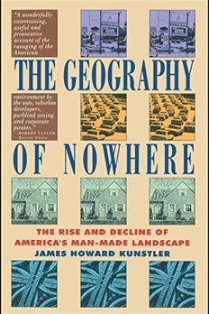 The Geography of Nowhere book cover