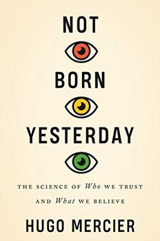 Not Born Yesterday book cover