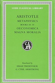 Metaphysicsby Aristotle book cover