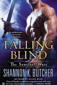 Falling Blind book cover
