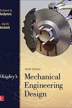 Shigley's Mechanical Engineering Design book cover