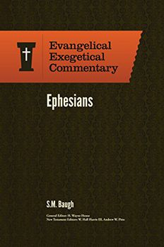 Ephesians book cover