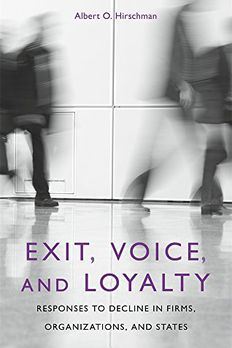 Exit, Voice, and Loyalty book cover