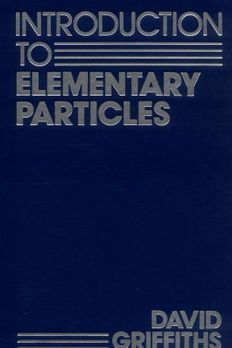 Introduction to Elementary Particles book cover