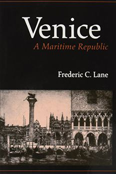 Venice, A Maritime Republic book cover