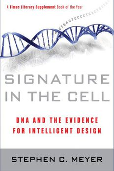 Signature in the Cell book cover
