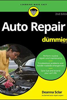 Auto Repair For Dummies book cover
