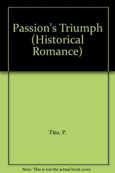 Passion's Triumph book cover