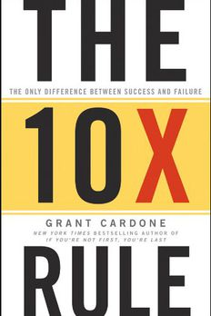 The 10X Rule book cover