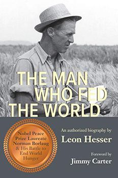 The Man Who Fed the World book cover