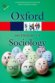 A Dictionary of Sociology book cover