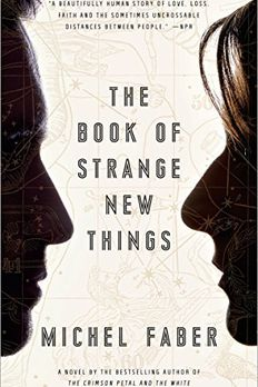 The Book of Strange New Things book cover