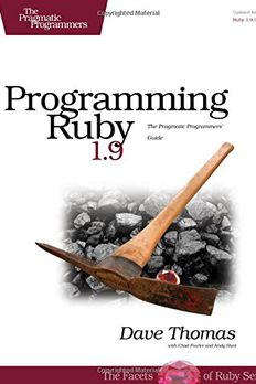 Programming Ruby 1.9 book cover