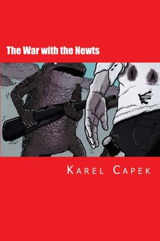 The War with the Newts book cover