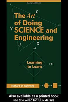 Art of Doing Science and Engineering book cover