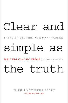 Clear and Simple as the Truth book cover
