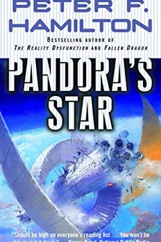 Pandora's Star book cover