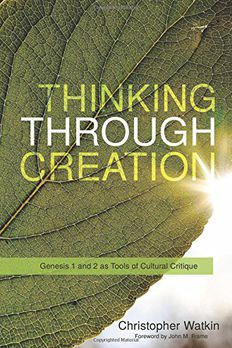 Thinking through Creation book cover
