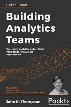 Building Analytics Teams book cover