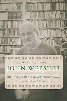 A Companion to the Theology of John Webster book cover