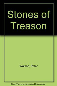 Stones of Treason by Peter Watson book cover