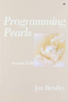 Programming Pearls book cover
