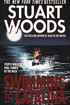 Swimming To Catalina book cover