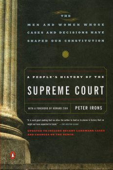 A People's History of the Supreme Court book cover
