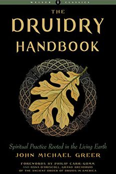 The Druidry Handbook book cover